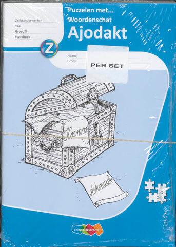 Ajodakt taal 8 Puzzelen met woordenschat set 5 ex