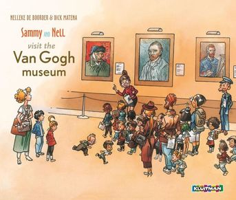 Sammy en Nell visit the Van Gogh museum