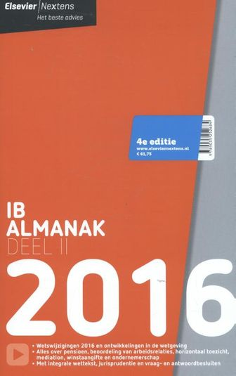 Elsevier IB Almanak 2016