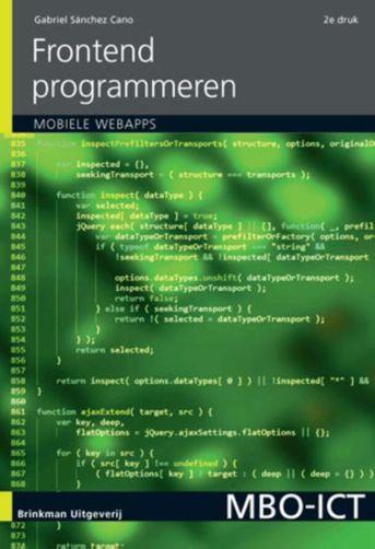 Frontend programmeren, incl. mobiele applicaties