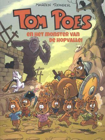 Tom Poes en het monster van de Hopvallei