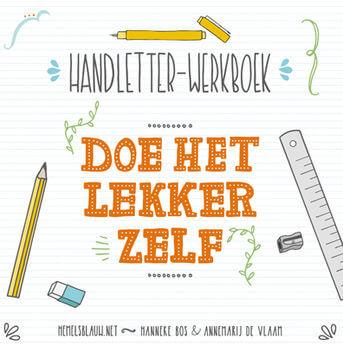 Handletter-werkboek Doe het lekker zelf