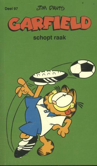 Garfield schopt raak