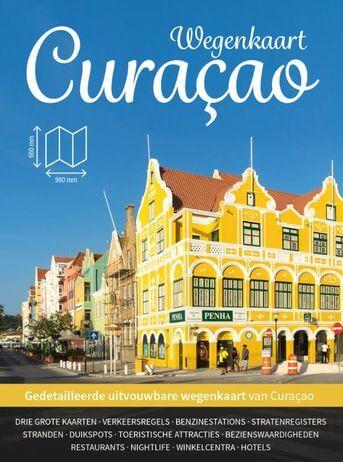 Wegenkaart Curacao