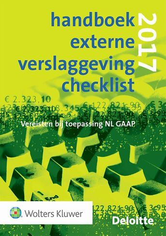 Handboek Externe Verslaggeving Checklist 2017 (e-book)