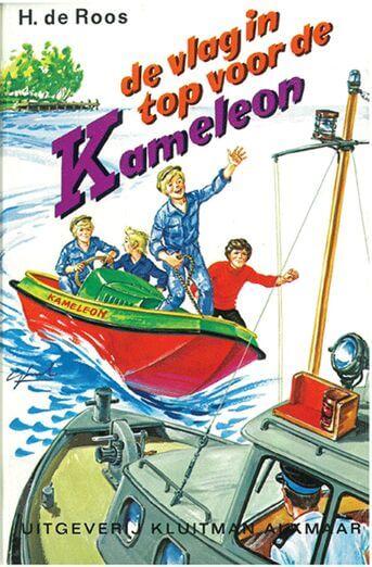 De vlag in top voor de Kameleon (e-book)