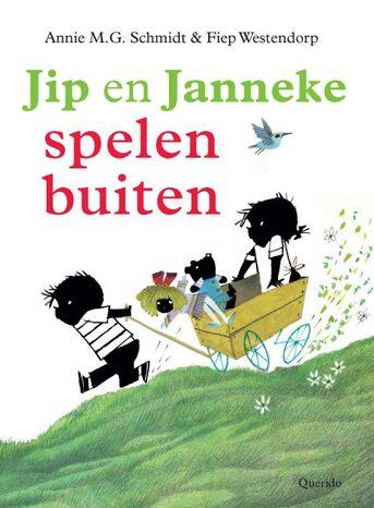 Jip en Janneke spelen buiten (e-book)
