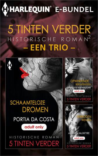 5 Tinten verder historisch 2 - een trio (3-in-1) (e-book)