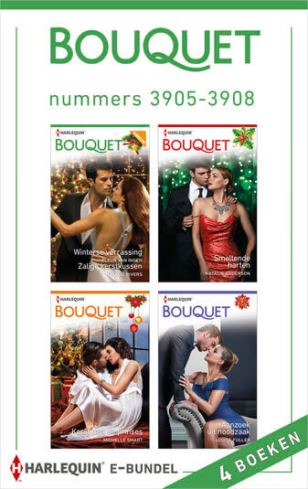 Bouquet e-bundel nummers 3905 - 3908 (e-book)