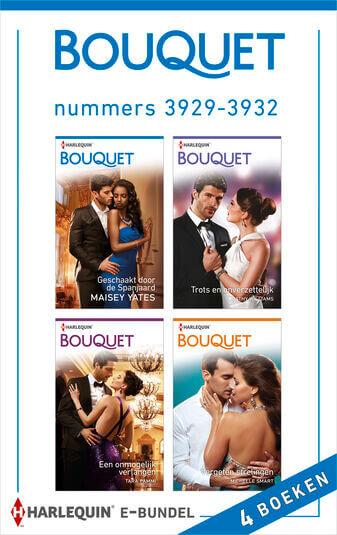Bouquet e-bundel nummers 3929 - 3932 (4-in-1) (e-book)