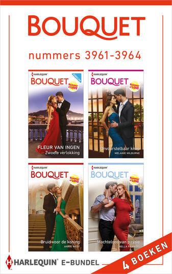 Bouquet e-bundel nummers 3961 - 3964 (e-book)